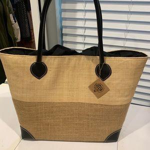 Handbags - Straw shopper bag from Rome Italy